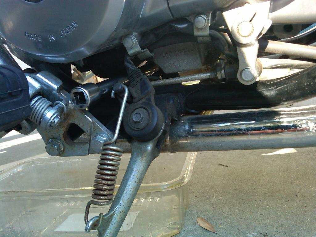 Oil change honda rebel 250 for Where can i drop off used motor oil